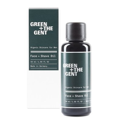Green + The Gent - Face + Shave Oil - 50ml