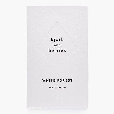 Björk and Berries - White Forest