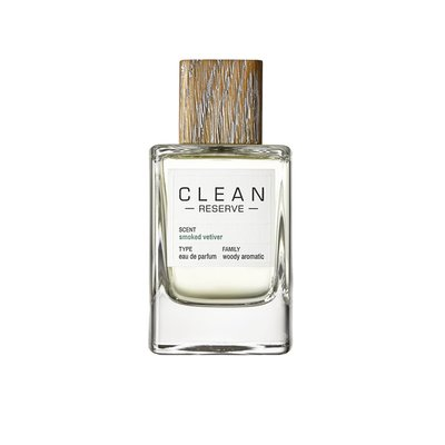 Clean - Reserve - smoked vetiver