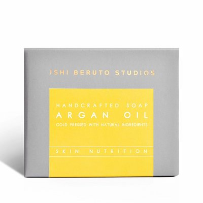 Ishi Beruto Studios - Argan Oil - Natural Soap Bar - 100g